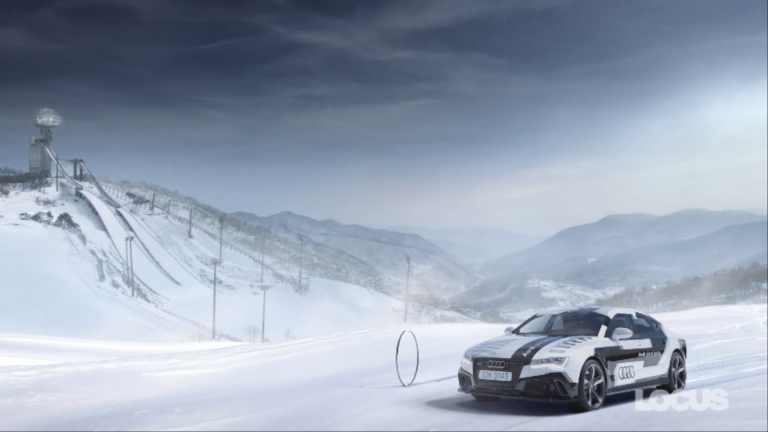 AUDI : THE OLYMPIC WINTER GAMES PYEONGCHANG 2018