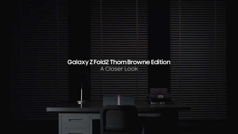 Galaxy Z Fold2 : ThomBrowne Edition