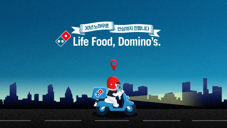 Domino's Pizza : Domino's GPS Tracker flight