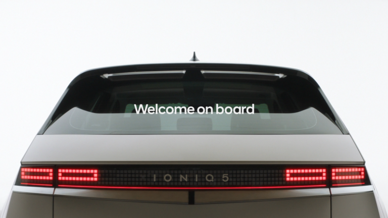 Ioniq 5 : Welcome on board